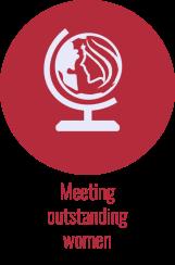 Meeting outstanding women